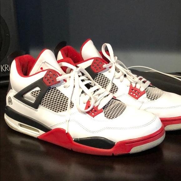 Nike Air Jordan Retro 4 Iv Brooklyn